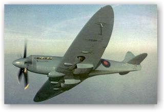 Classic Charles Brown photo of Spitfire PR XIX
