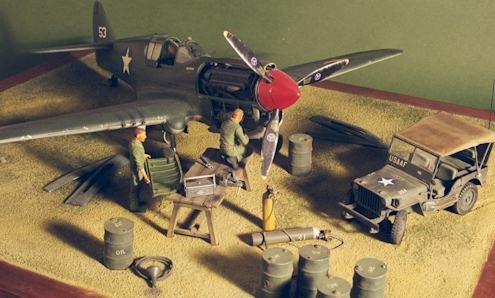 Aircraft Mechanic on Warhawk Of The Far East